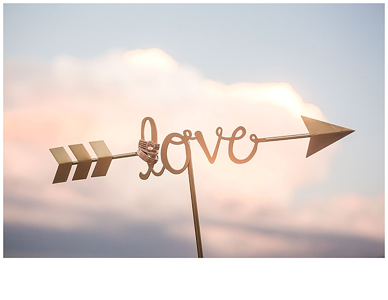 Love is literally (and figuratively) in the air! Add some flair to your ceremony and reception by adding small little accessories in