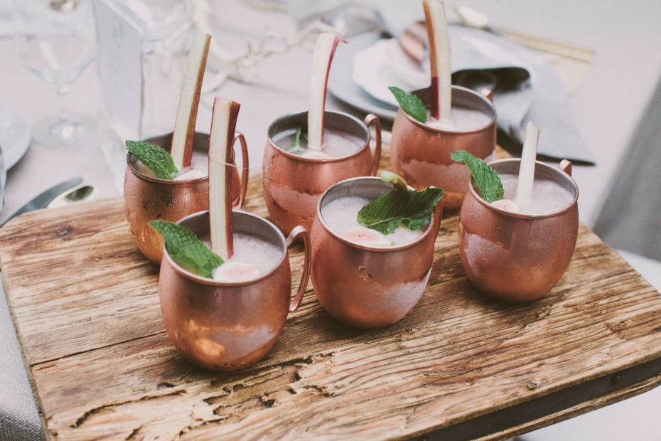 copper mug cocktail