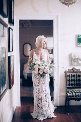 How To Have A Blush Boho + Urban Garden Wedding Day