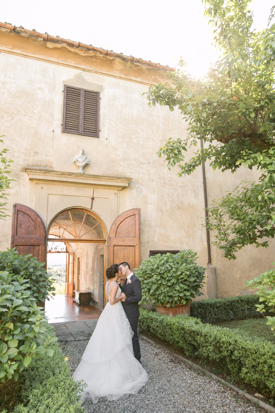Villa Medicea wedding in Italy