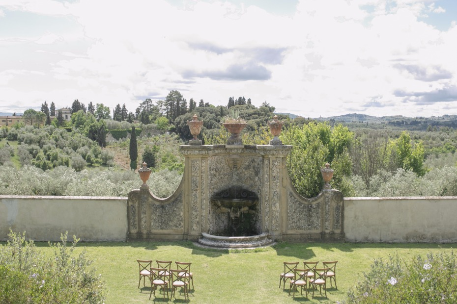 Get married at the Villa Medicea in Italy