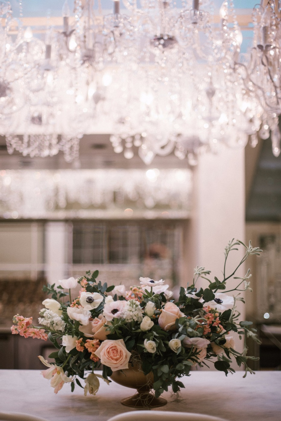 glam chic industrial wedding ideas