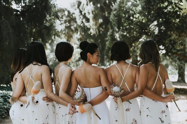 14 Times Bridesmaids Made Magic Wearing White