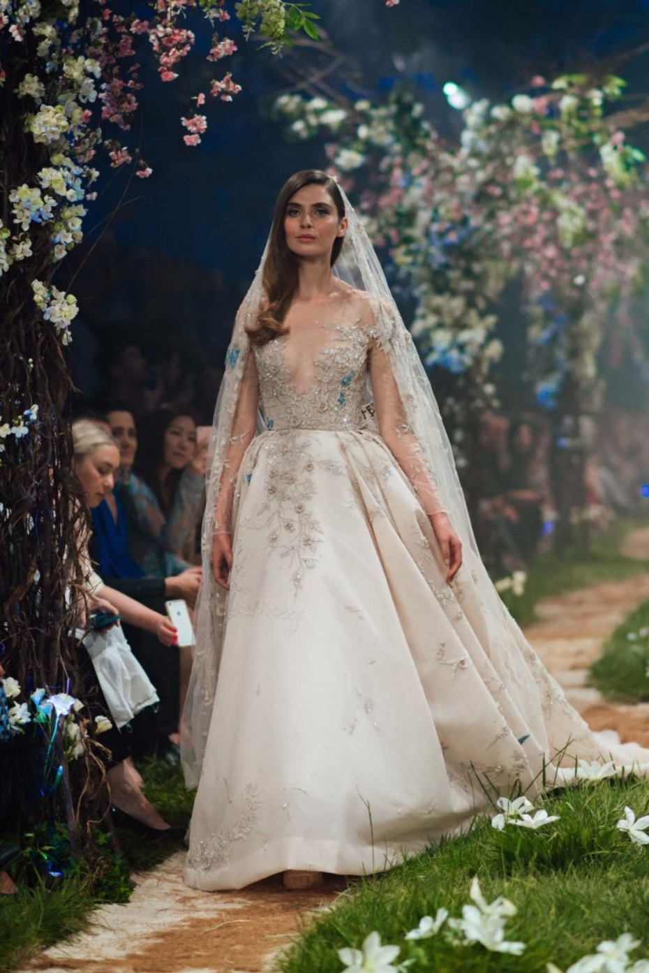 New disney wedding dresses by paolo sebastian for Wedding dress disney collection
