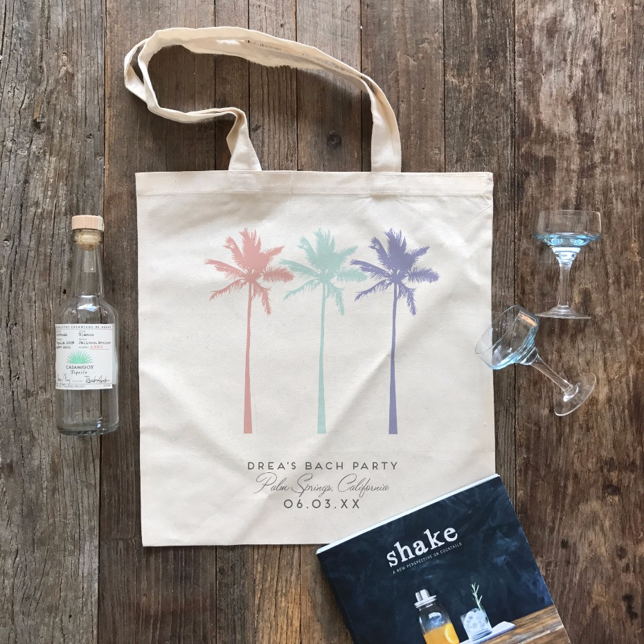 Palm Springs Tote Bag | Wedding Chicks Shop