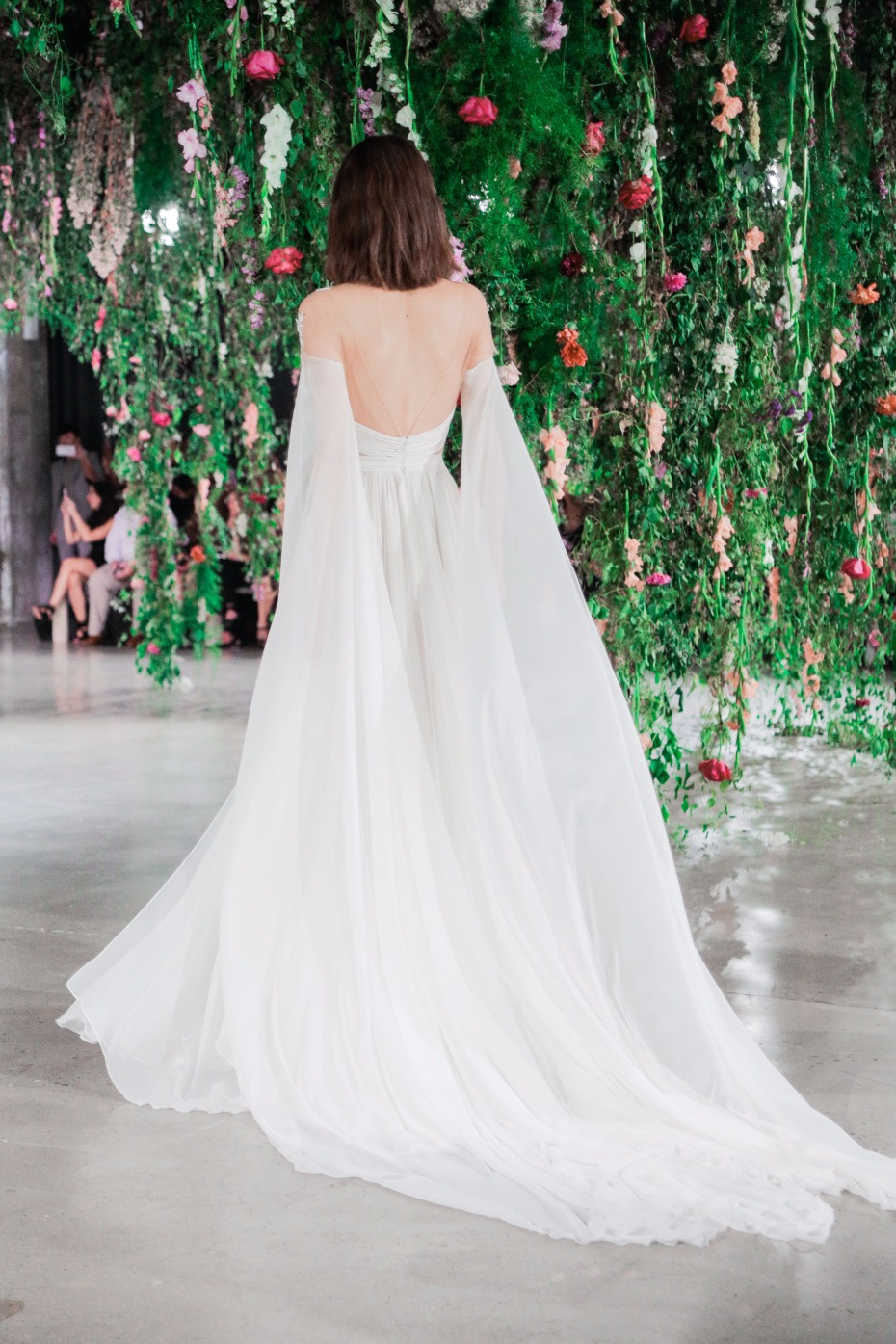 draped tulle GALA Collection No IV Gown