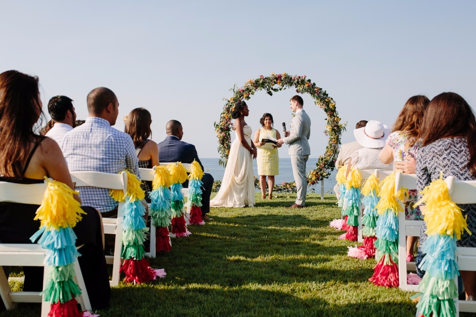 Seaside wedding in Mexico