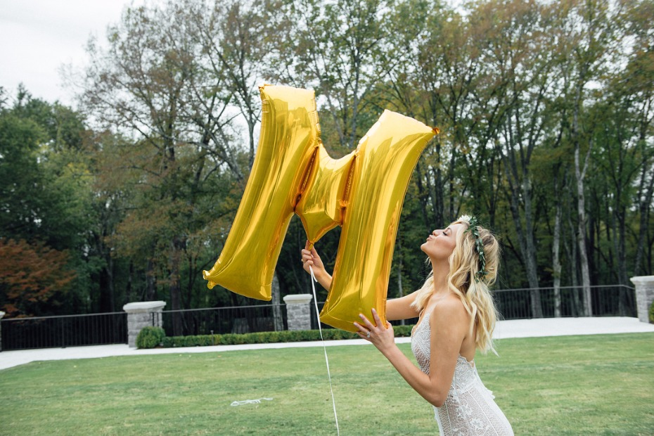 Balloons at your bridal shower.