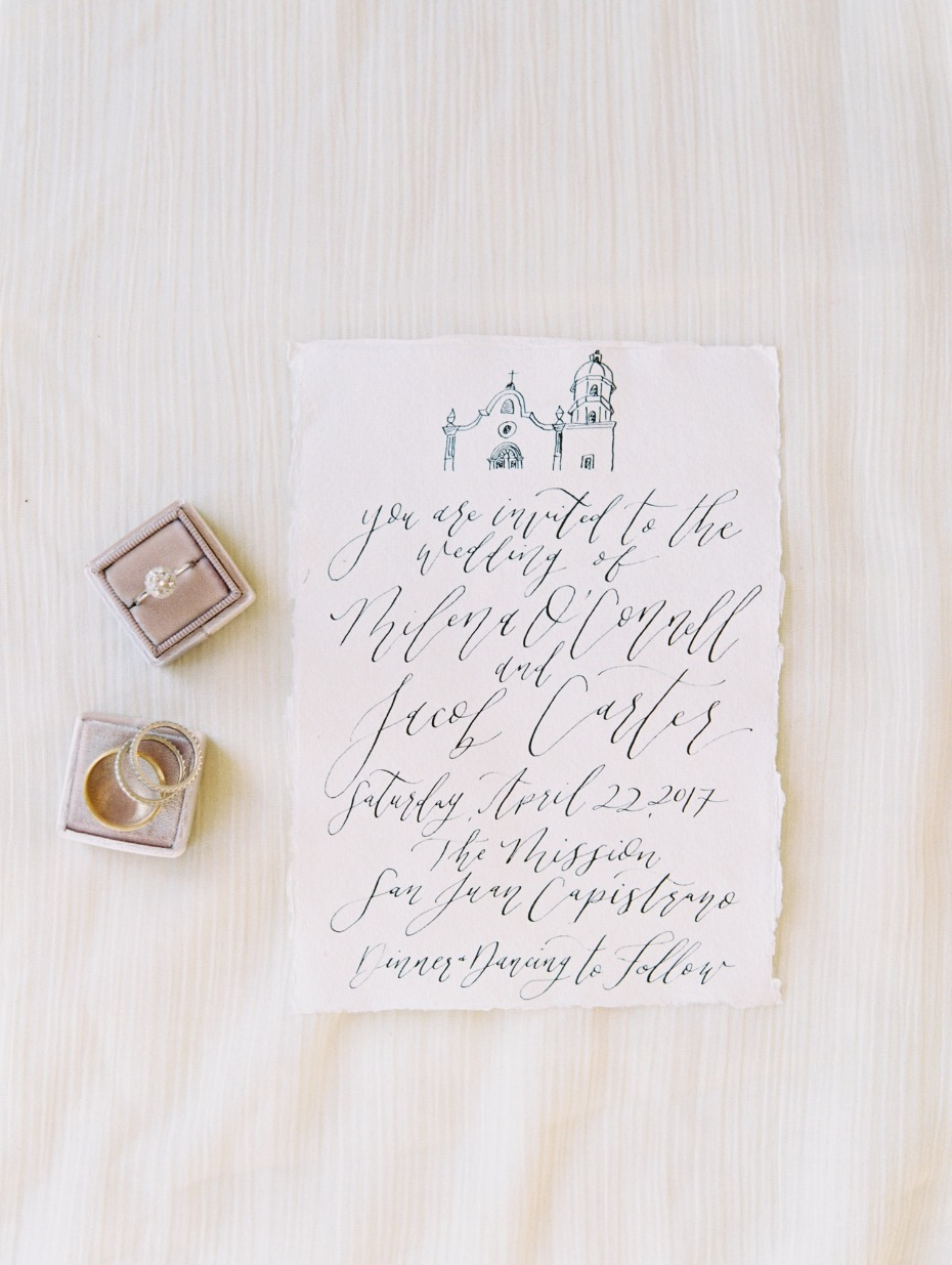 Hand Lettered Calligraphy by Kaylyn of Pirouette Paper