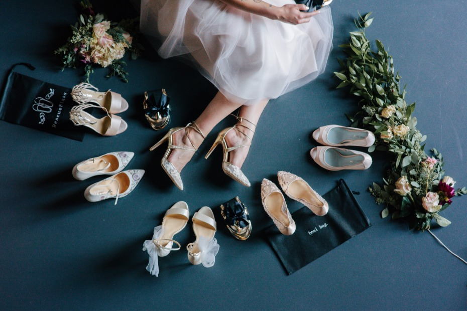So many heels so little wedding day