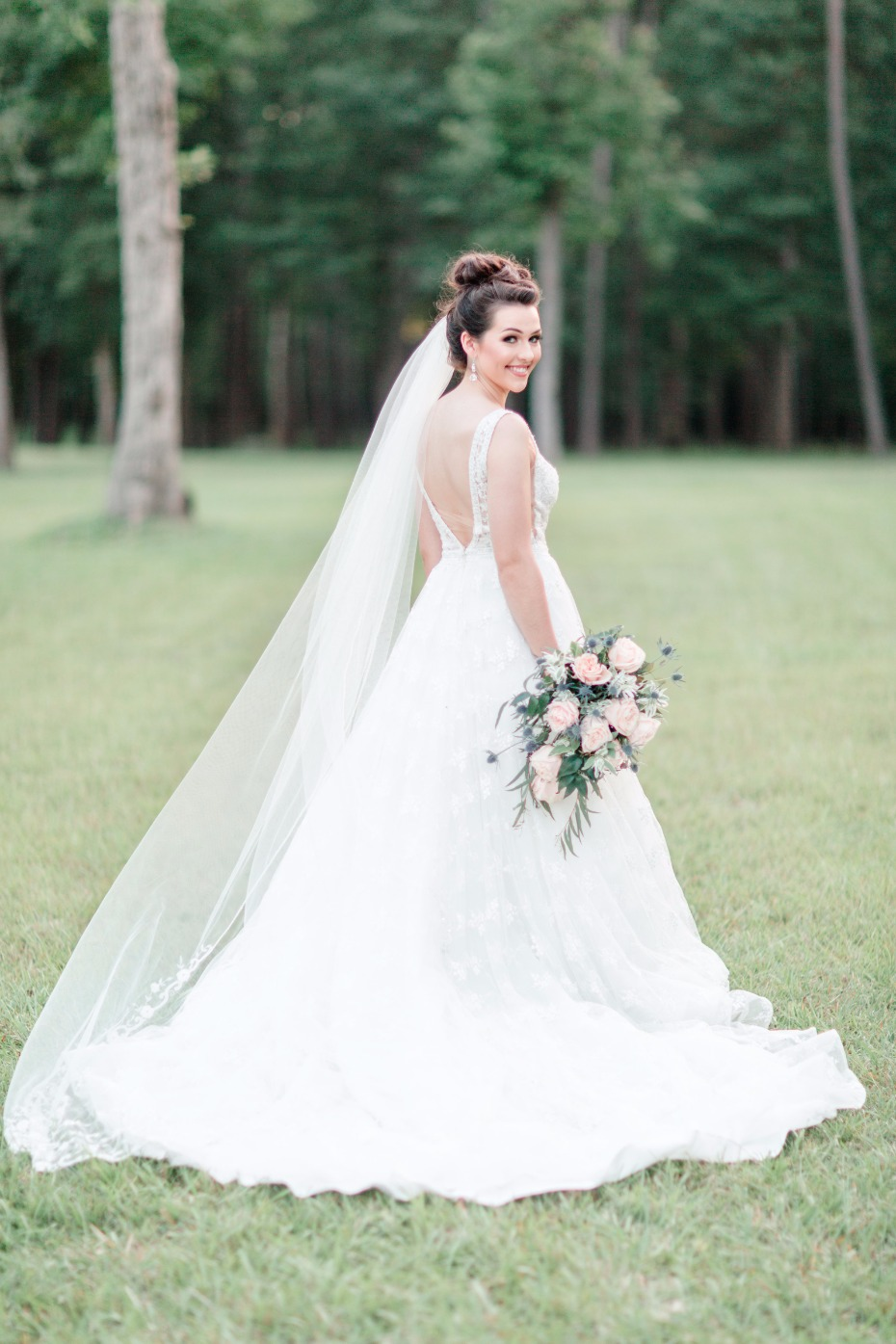 wedding dress by Princess Bridal