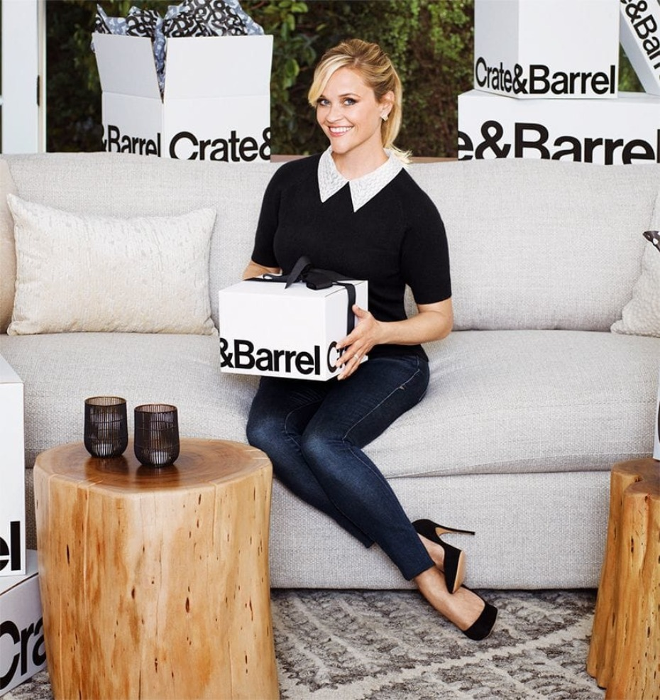 Crate&Barrel + Reese Witherspoon