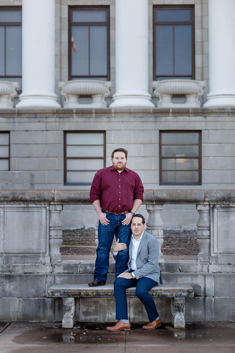 These Aggies looked so Model ready! We loved their engagement session!