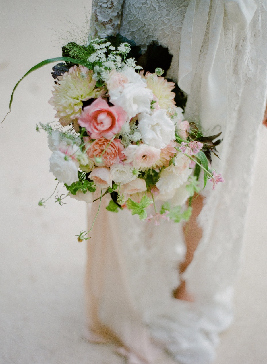 wedding bouquet for the bride