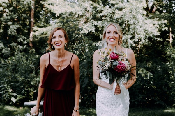 Elegantly Chic with a Hint of Boho Romance Wedding