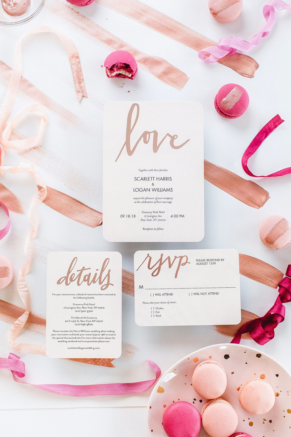 Dipped Love Modest Wedding Invites from Shutterfly