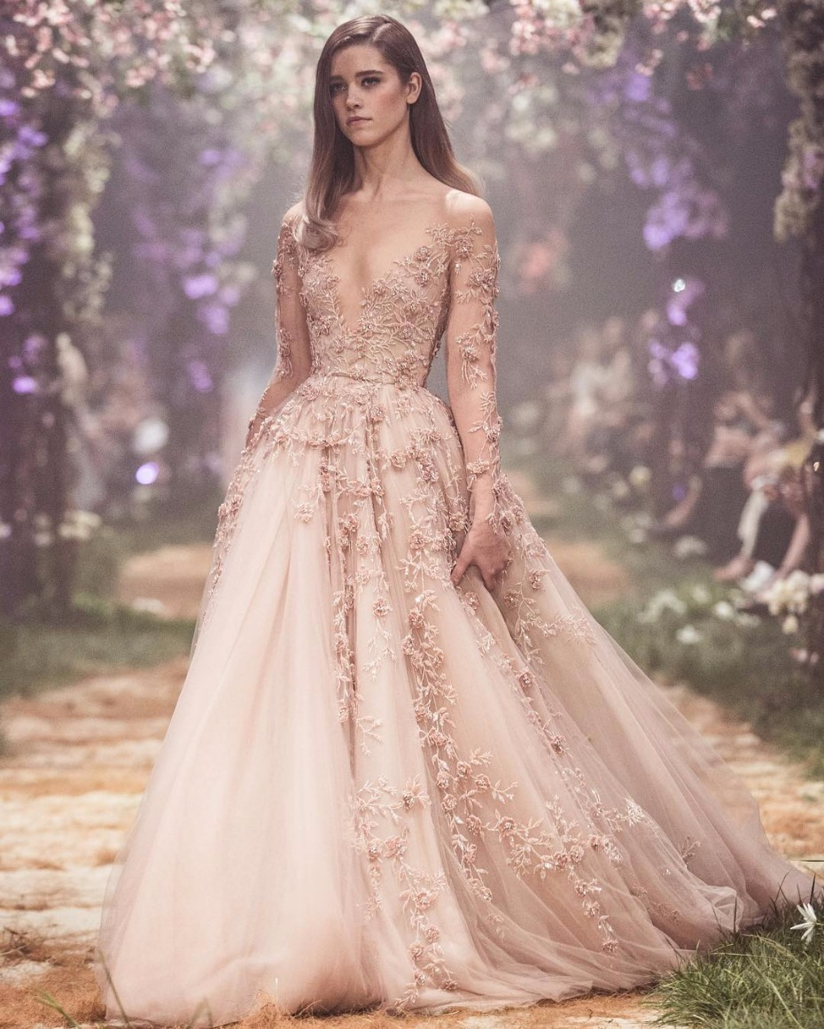 New disney wedding dresses by paolo sebastian for Designer disney wedding dresses