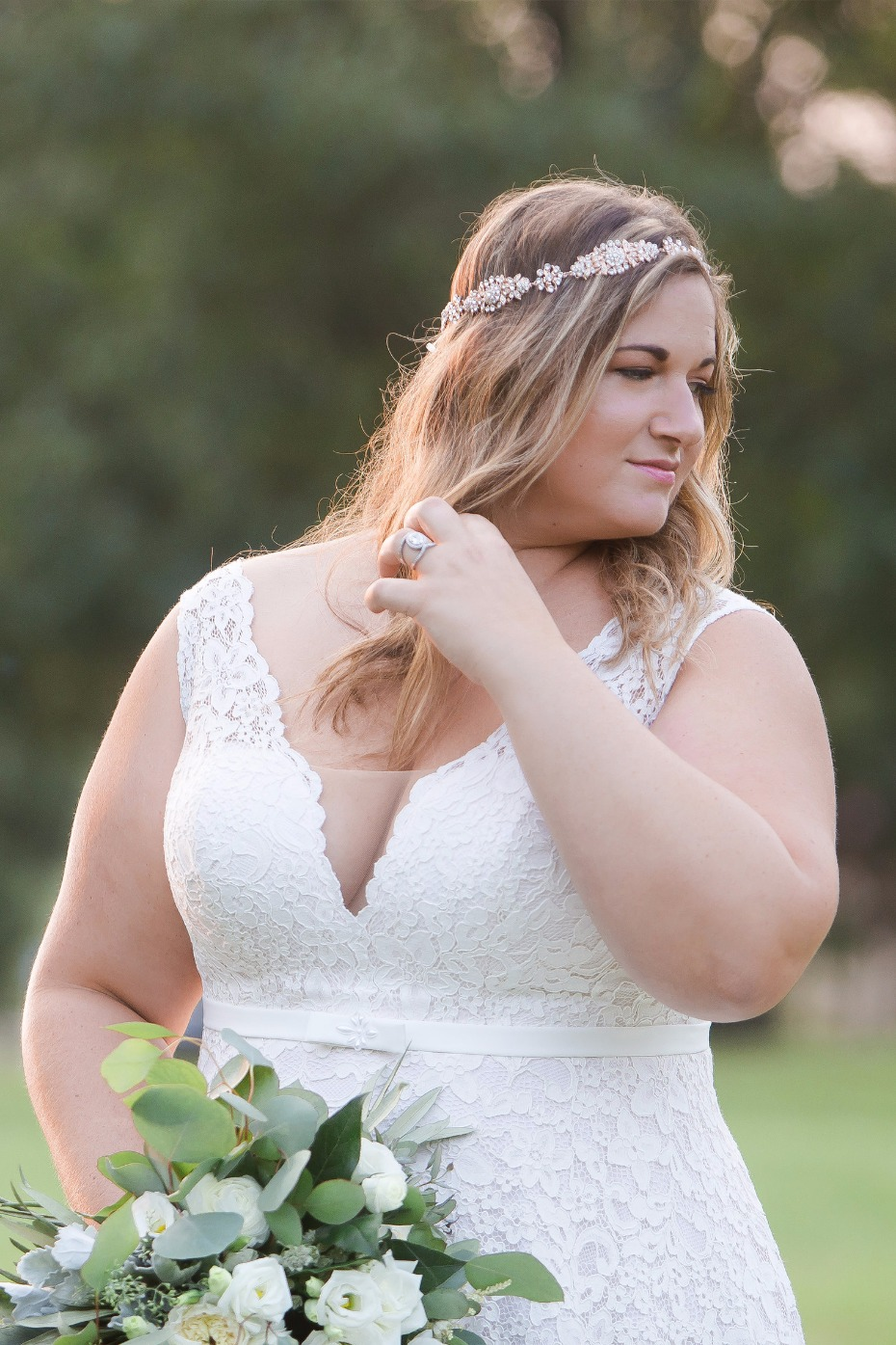 curvy brides we have gowns you are going to LOVE from All My Heart Bridal
