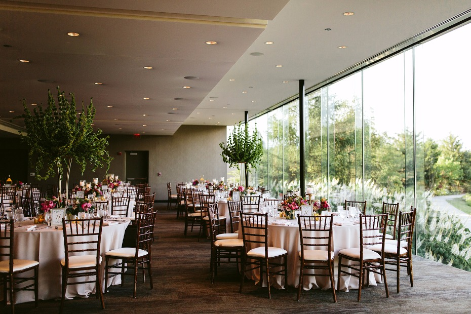 Arboretum reception space