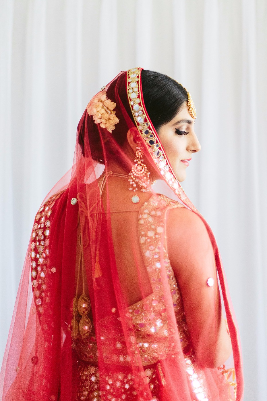 Gorgeous traditional Indian bridal look