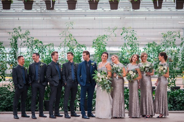 You've Never Seen a Greenhouse Wedding Like This