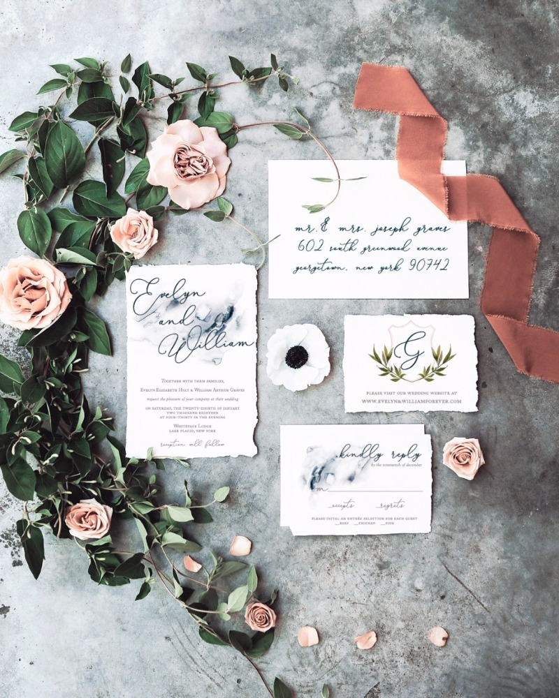 Inspiration Image from Simply Paper