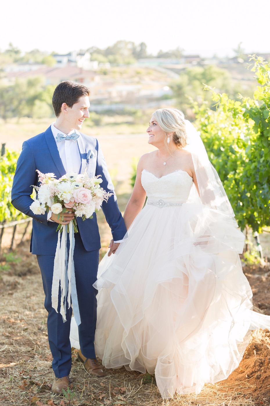Winery wedding in California