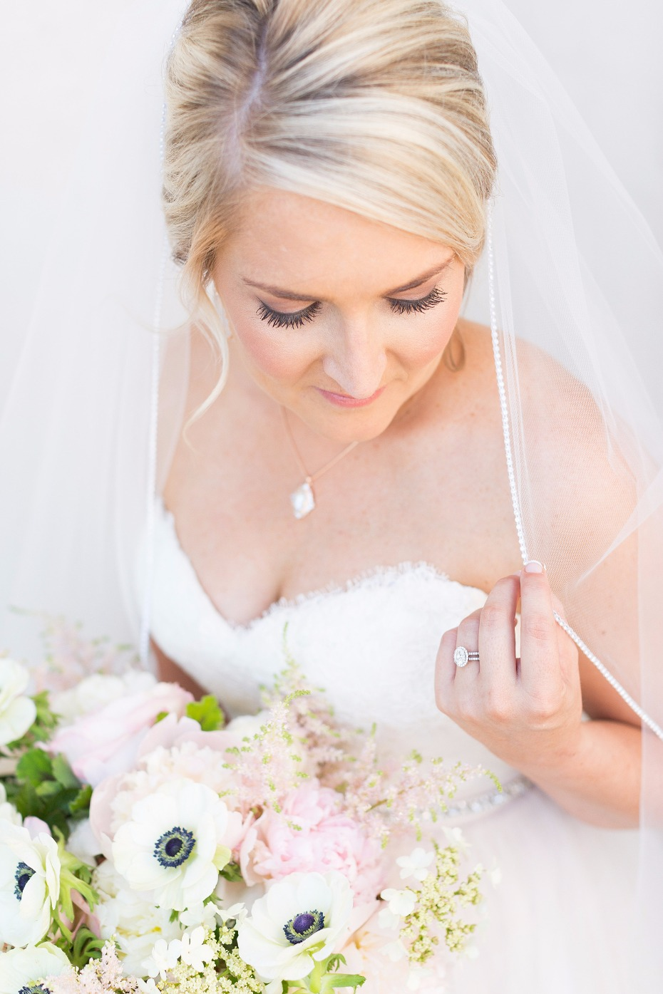 Soft bridal makeup