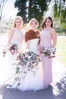 The Hills Are Alive With Music AND Love At This Wedding Shoot