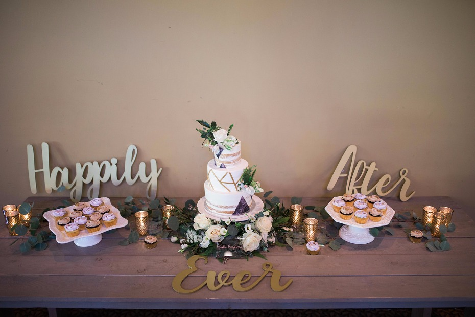 Happily ever after cake table