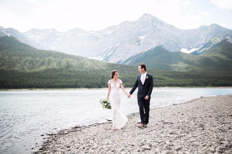 Get married amongst the Canadian Rockies