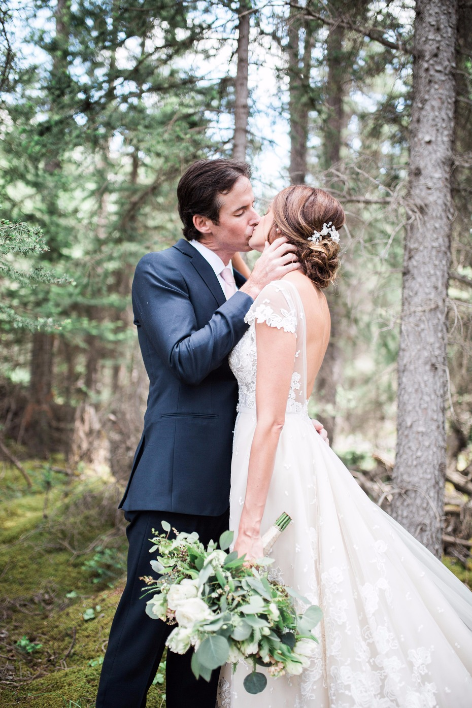 Beautiful Canadian Rockies wedding