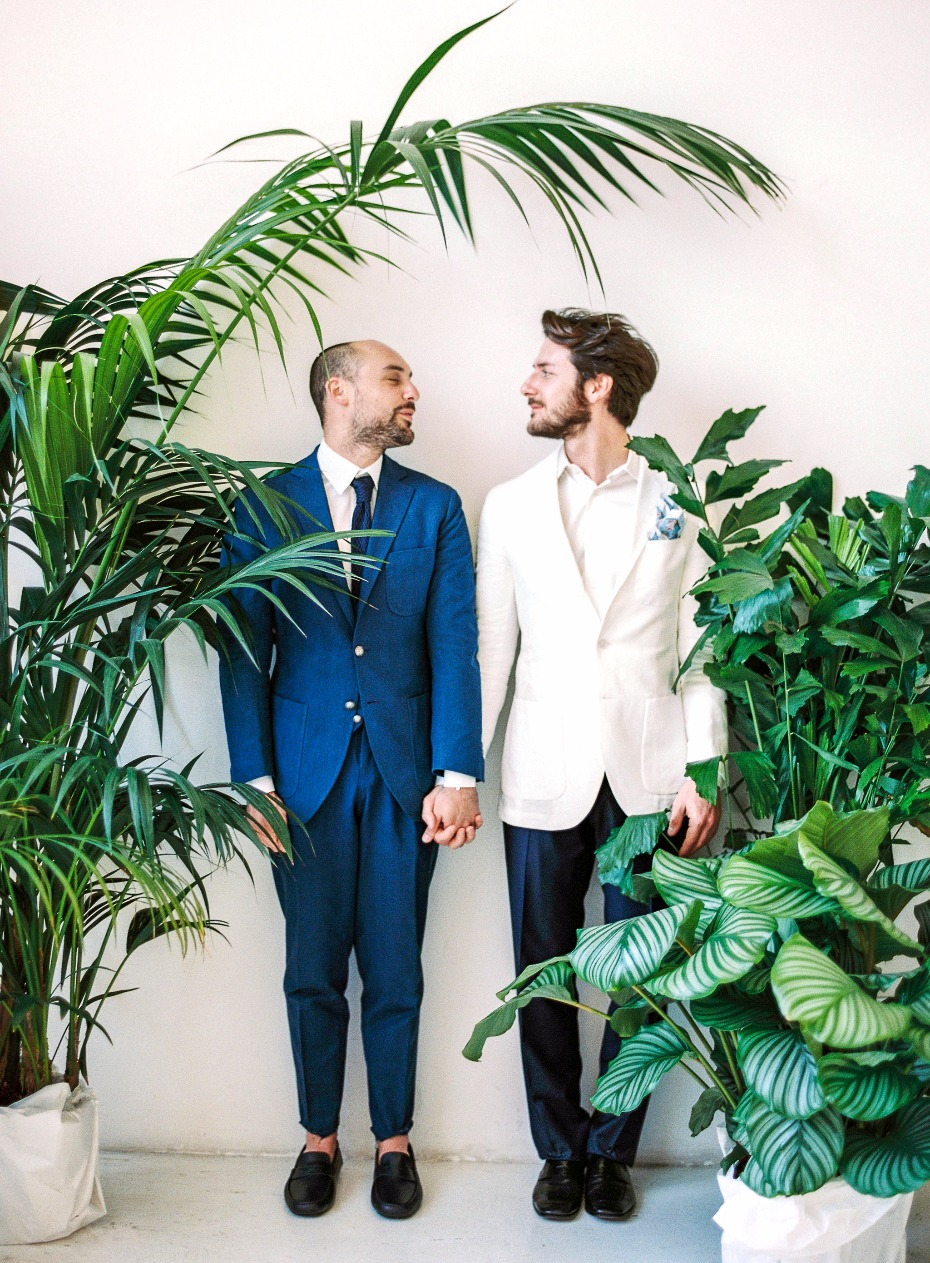 Love wins tropical wedding inspiration