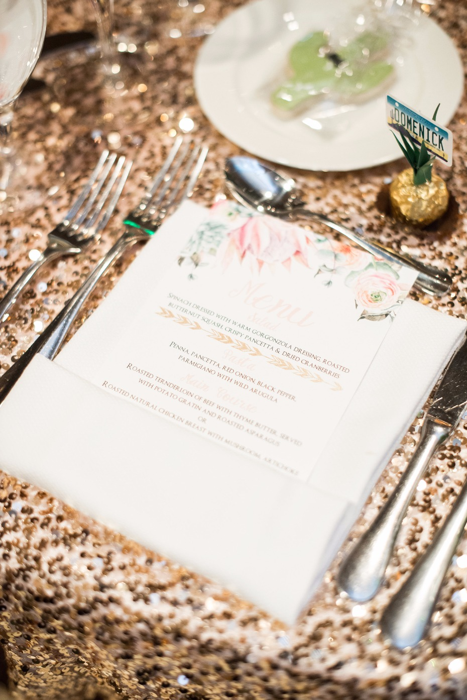 wedding menu for your wedding reception