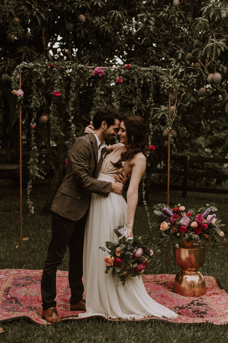 Colorful boho wedding ideas for the fearless bride