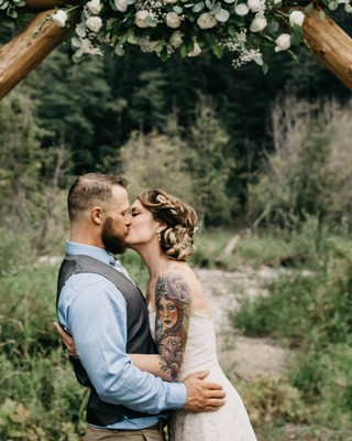 14 of the Raddest Tatted Brides We've Seen in Awhile