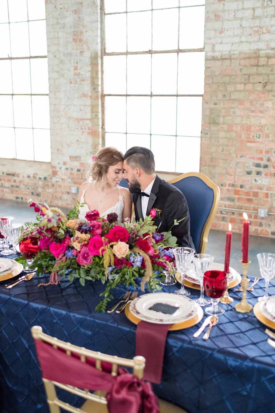 late fall wedding table decor
