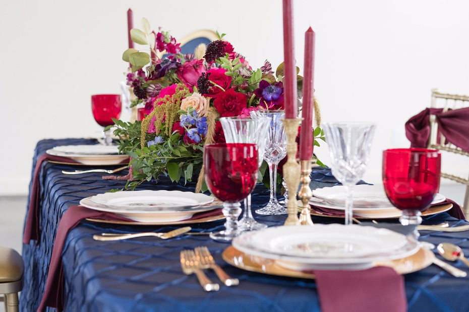 happy fall wedding table ideas