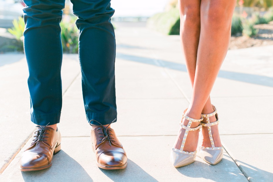 engagement footware ideas