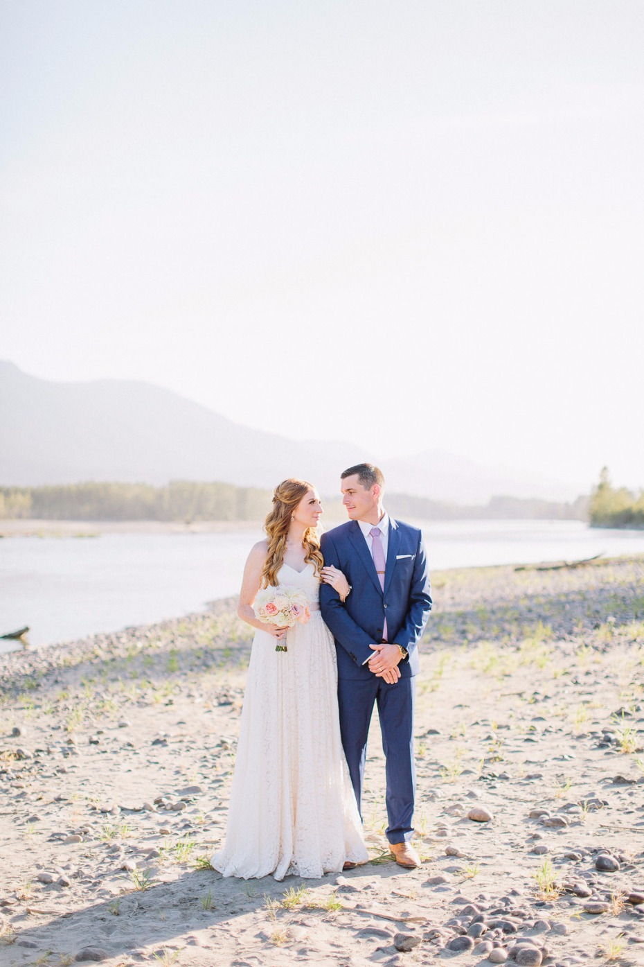 Gorgeous wedding at Fraser River Lodge