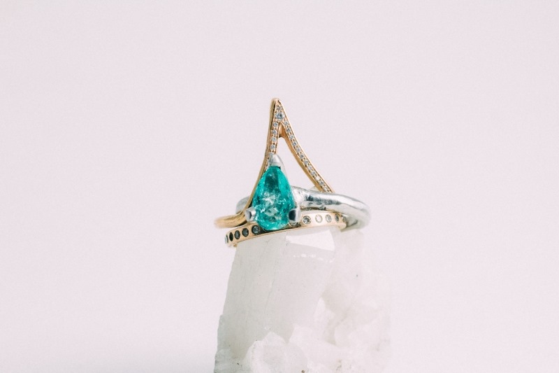 Vena is known for its bespoke wedding bands and engagement rings, handcrafted using ethical and sustainable