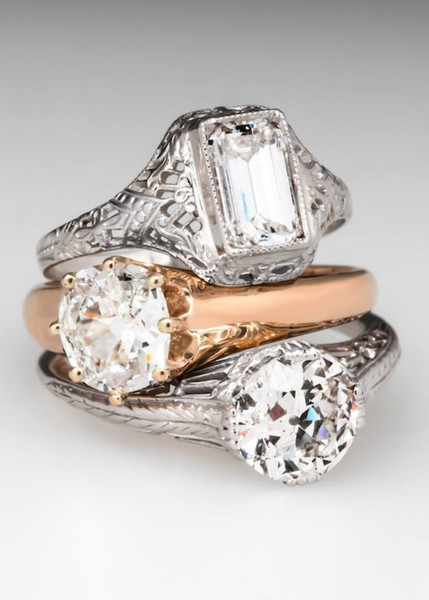 Vintage Engagement Rings From EraGem