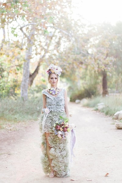 Living Flower Dress Inspiration