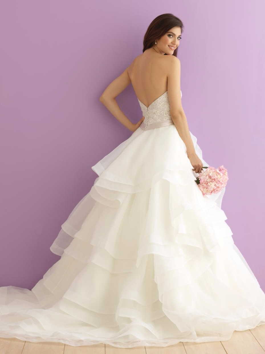 Allure bridal Romance wedding dress