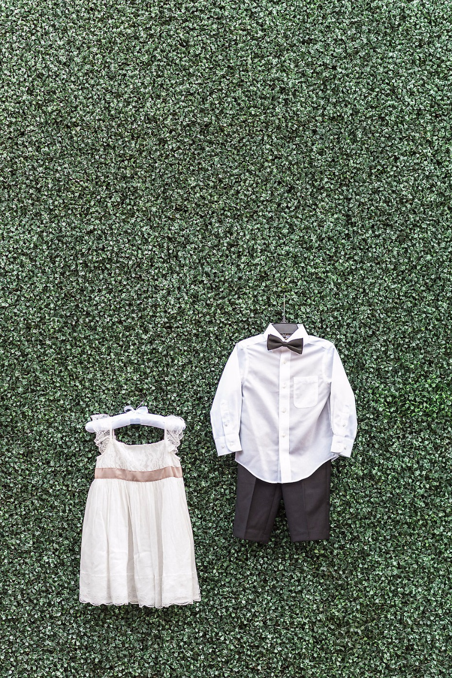 Ring bearer and flower girl dress