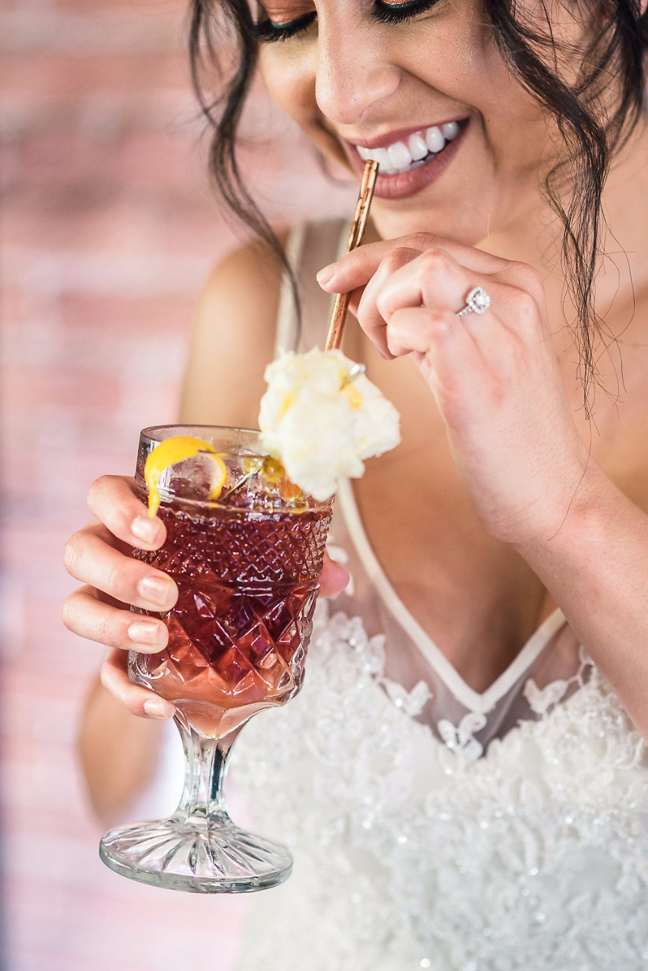 Signature cocktail for the bride