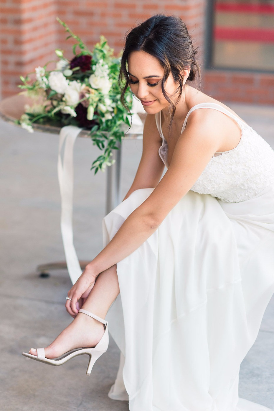 Cute shoes for the bride