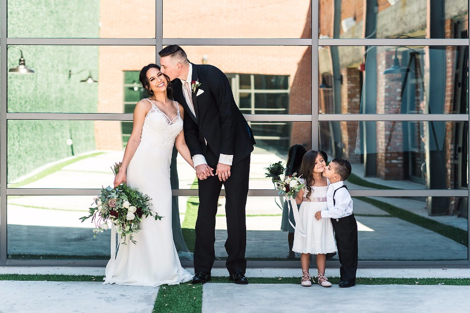 SO CUTE! Industrial chic wedding ideas from Events On Jackson