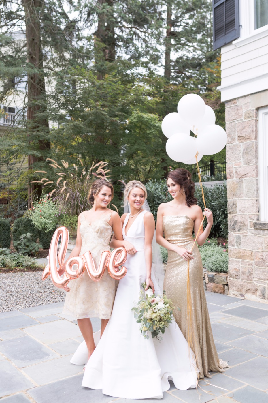 cute bridal party wedding photo ideas