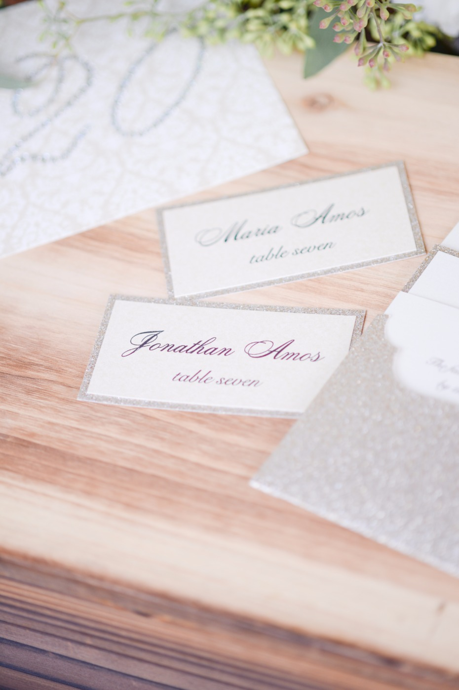 escort cards for your wedding day